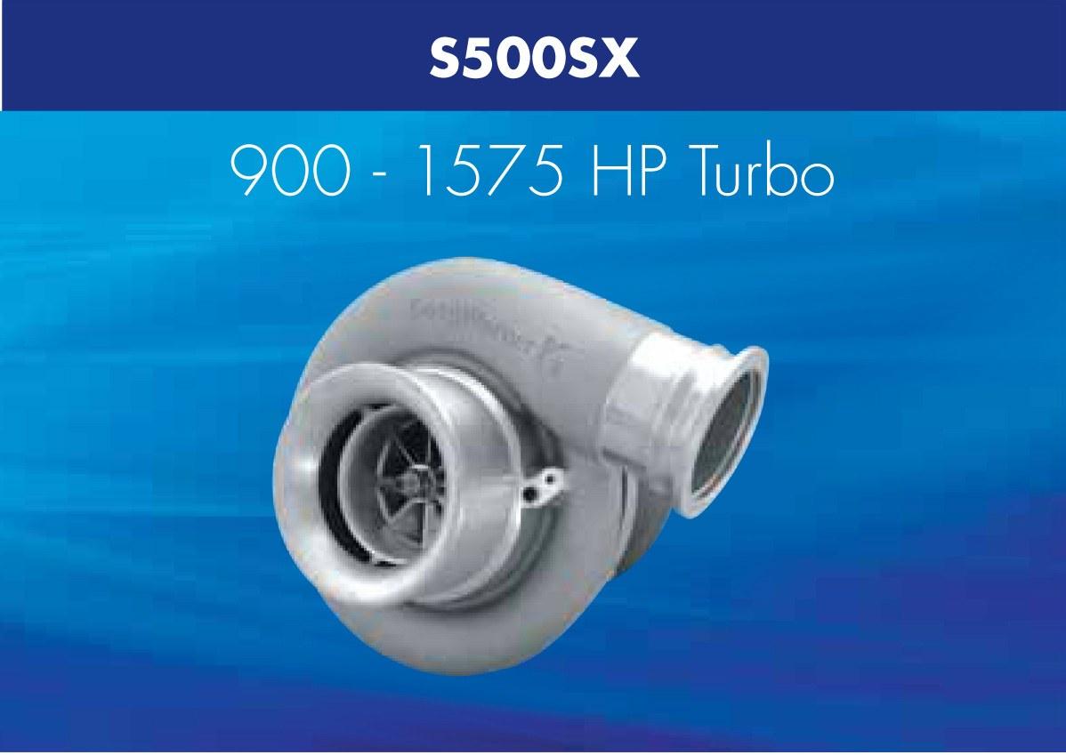 Turbosprężarka Borg Warner AirWerks S500SX - GRUBYGARAGE - Sklep Tuningowy